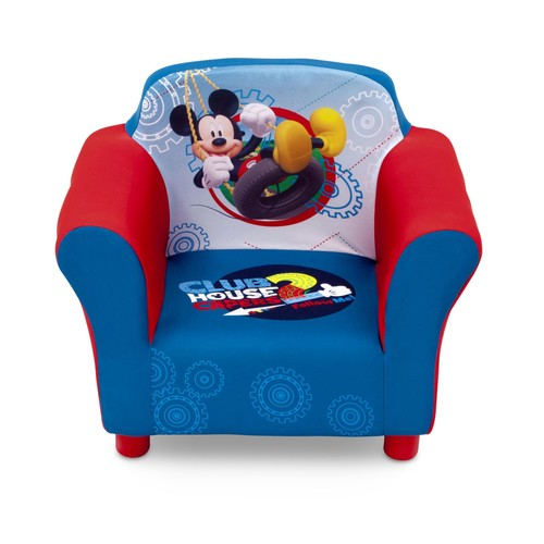 Disney Mickey Mouse Clubhouse Toddler Boy's Upholstered Chair
