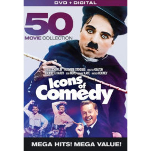 Icons Of Comedy: 50 Movie Megapack