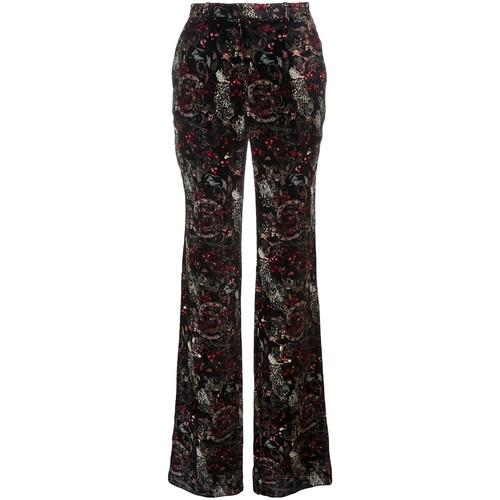 ROBERTO CAVALLI Floral Print Trousers