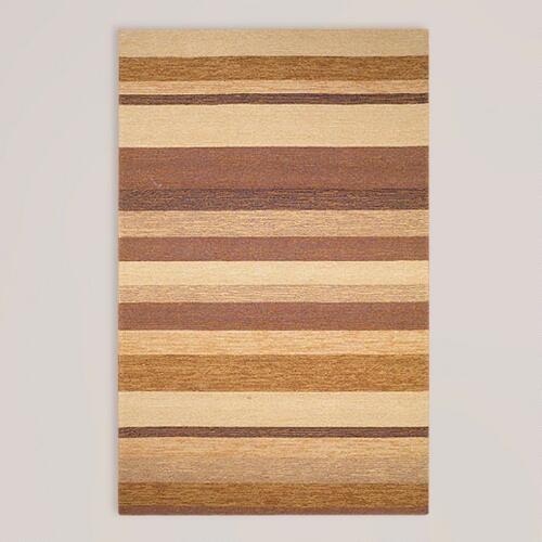 Sand Striped Indoor-Outdoor Rug