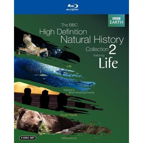 The BBC High Definition Natural History Collection 2 Featuring Life [10 Discs] [Blu-ray]