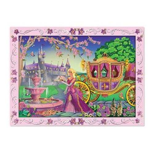 Melissa & Doug Fairytale Princess Peel And Press Craft Set