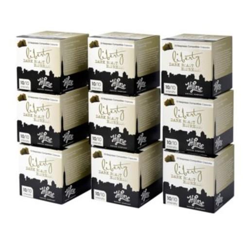 HiLine Coffee 90-Count Liberty Dark Roast Espresso Capsules