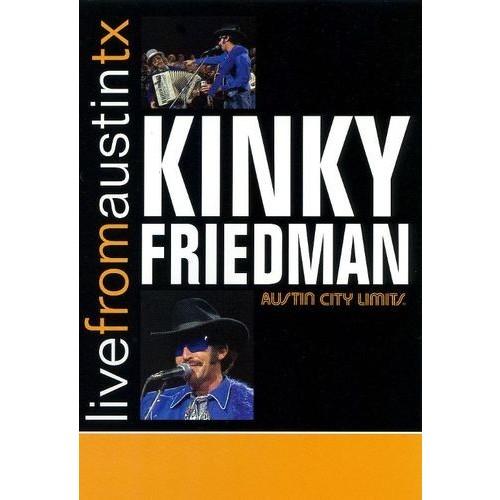 Live From Austin TX: Kinky Friedman [DVD] [1977]