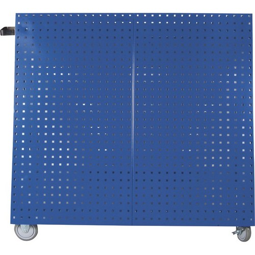 Triton LocBoard Mobile Tool Cart  Blue, 18 Sq. Ft. of Storage, Model# LBC-18B