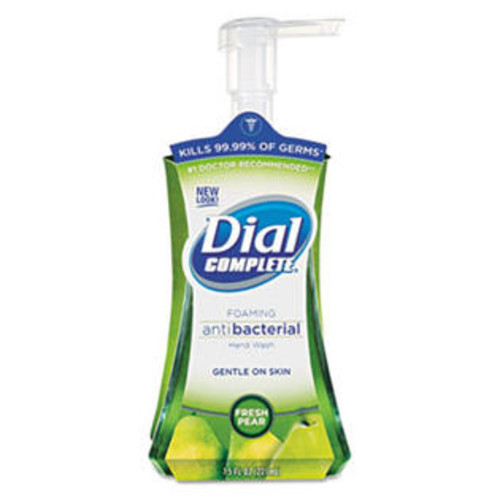 Dial Complete Hand Wash, Foaming, Antibacterial, Fresh Pear, 7.5 fl oz (221 ml)
