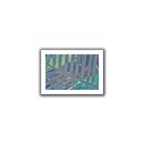 Artwal Cora Niele Leaf Shades III Unwrapped Flat Canvas Artwork, 16 x 24 Inch