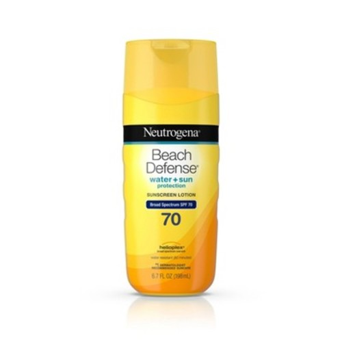Neutrogena Beach Defense Broad Spectrum Sunscreen Body Lotion - SPF 70 - 6.7oz