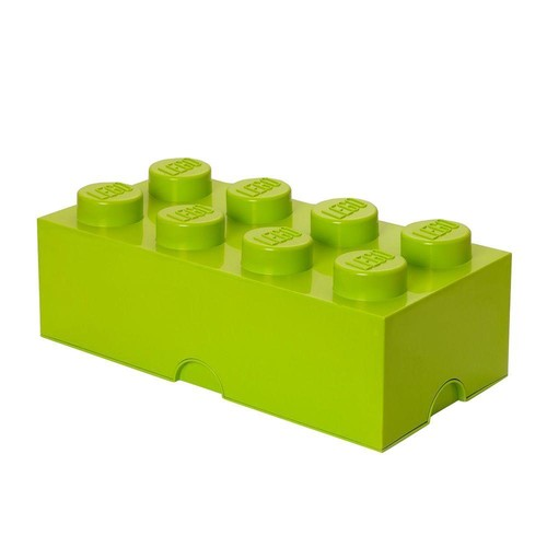 LEGO Lime Green Stackable Box