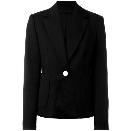 DIANE VON FURSTENBERG Contrast Button Blazer