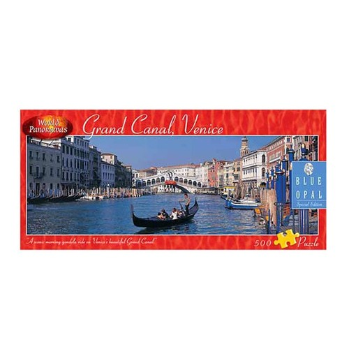 World Panoramas Grand Canal, Venice Puzzle