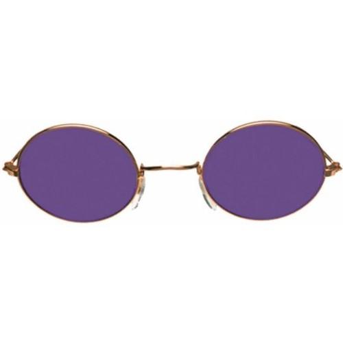 Gold Purple Glasses John Adult Halloween Accessory
