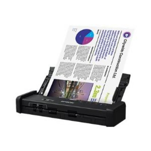 Epson DS-320 - Document scanner - Duplex - Legal - 600 dpi x 600 dpi - up to 25 ppm (mono) / up to 25 ppm (color) - ADF (20 sheets) - up to 500 scans per day - USB 3.0