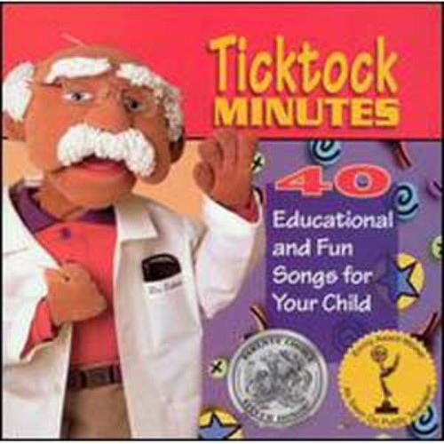 Ticktock Minutes: Forty Educational and Fun Songs By Various Artists (Audio CD)