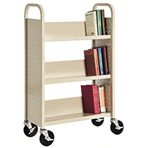 Sandusky Lee SL327-07 Single Sided Sloped Shelf Welded Bookcase, 14