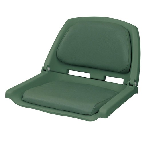 SeaSense Seat Fold Down Deluxe Molded - Green