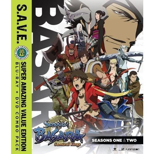 Sengoku Basara: Samurai Kings - Seasons One and Two + OVA [S.A.V.E.] [Blu-ray]