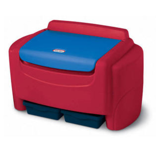 Little Tikes Sort 'n Store Toy Box Finish: Red