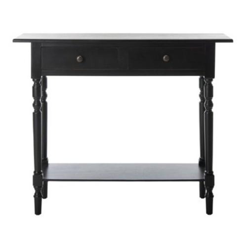 Console Table Black - Safavieh