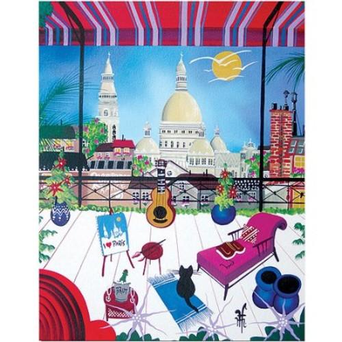 Paris by Herbert Hofer, 24x32-Inch Canvas Wall Art