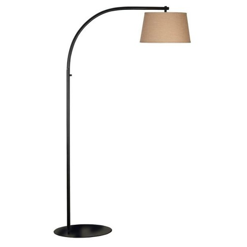 Kenroy Home Sweep 69 in. Oil-Rubbed Bronze Floor Lamp