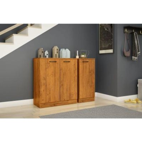 South Shore Axess Country Pine Storage Cabinet