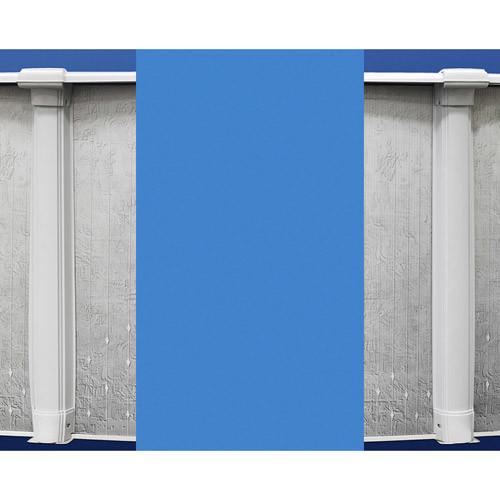 Swimline Oval Blue Overlap Liner Standard Gauge [15 by 30-Feet]