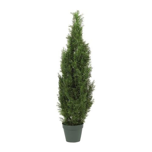 4' Cedar Tree Silk Tree by Nearly Natural