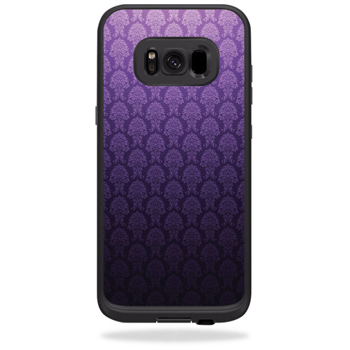 Skin for LifeProof Fre case for Samsung Galaxy S8+ Plus - Antique Purple | MightySkins Protective, Durable, and Unique Vinyl Decal wrap cover | Easy To Apply, Remove | Made in the USA