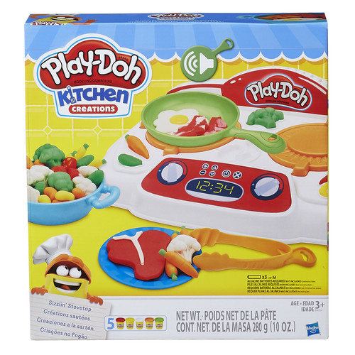 Play-Doh Kitchen Creations Sizzlin' Stovetop Playset
