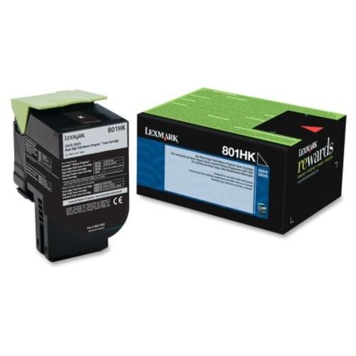 Lexmark Unison 801HK Toner Cartridge - Black