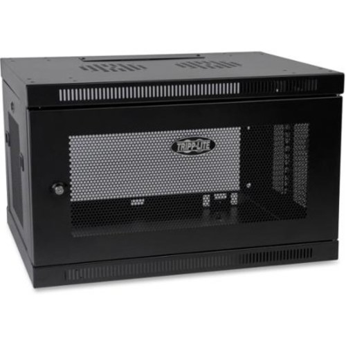 Tripp Lite 6U Wall Mount Rack Enclosure Server Cabinet w/ Door & Side Panels - 19