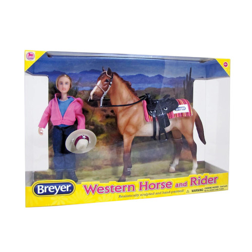 Classics Western Horse and Rider Set by Breyer
