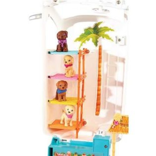 Mattel Barbie Island Inspired Ultimate Puppy Mobile SUV Playground