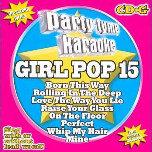 Party Tyme Karaoke: Girl Pop, Vol. 15 [CD]
