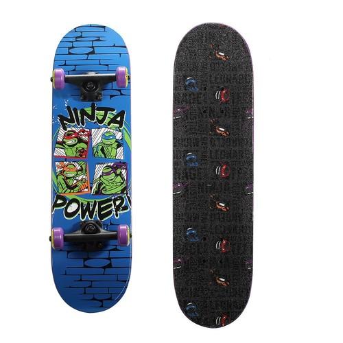 Playwheels Teenage Mutant Ninja Turtles 28 in. Skateboard in Ninja Power Graphic