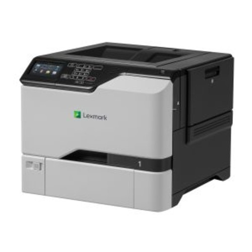 Lexmark CS725de - Printer - color - Duplex - laser - A4/Legal - 1200 x 1200 dpi - up to 50 ppm (mono) / up to 50 ppm (color) - capacity: 650 sheets - USB 2.0, Gigabit LAN, USB 2.0 host