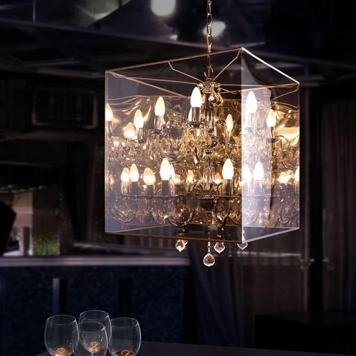 Zuo Modern Centurion Ceiling Lamp, Translucent