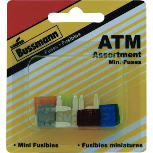 Buss Mini Fuse Kit Assortment 8/Pack (BP/ATM-A8-RP)