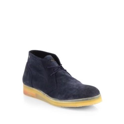 Suspended Sandman Suede Boots