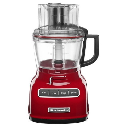 KitchenAid - KFP0933ER 9-Cup Food Processor - Empire Red