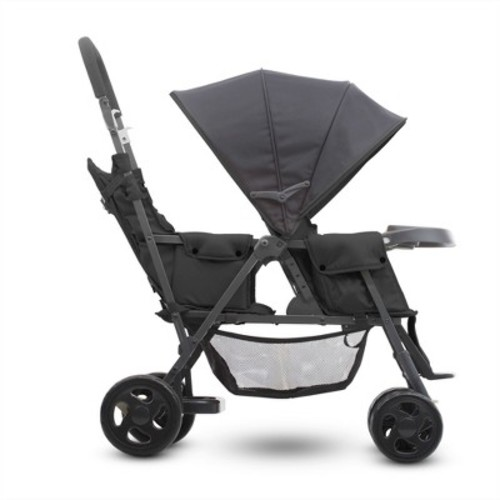 Joovy Caboose Too Graphite Stand-On Tandem Stroller