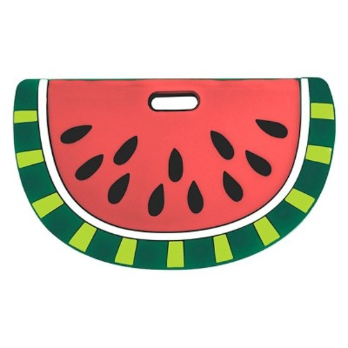 Silli Chews Silicone Watermelon Baby Teether - Red/Green