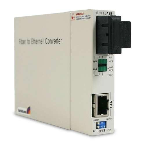 StarTech.com 10/100 Mbps Single Mode Fiber Media