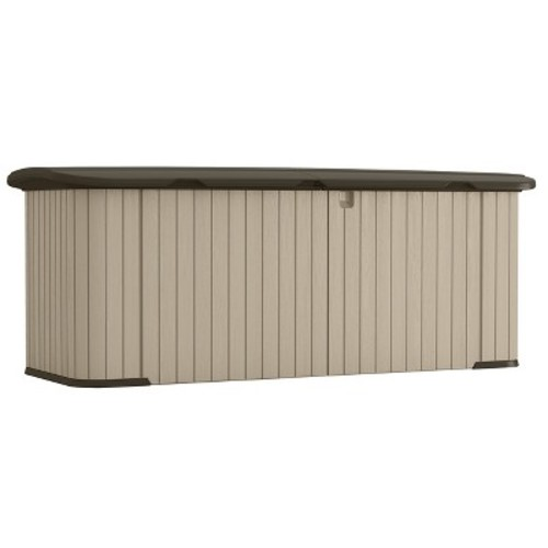 Resin Multi-Purpose Storage Shed - Taupe Brown - Suncast