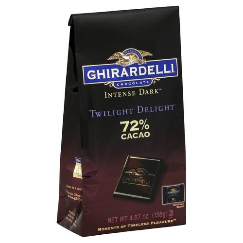 Ghirardelli Chocolate Chocolate, Twilight Delight, 72% Cacao 4.87 oz (138 g)