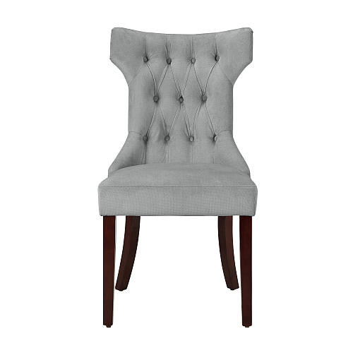 Dorel Clairborne Tufted Dining Chair- Taupe