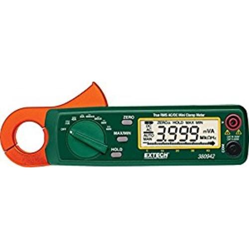Extech 380942 True RMS 30 Amp AC/DC Mini Clamp Meter [30A]