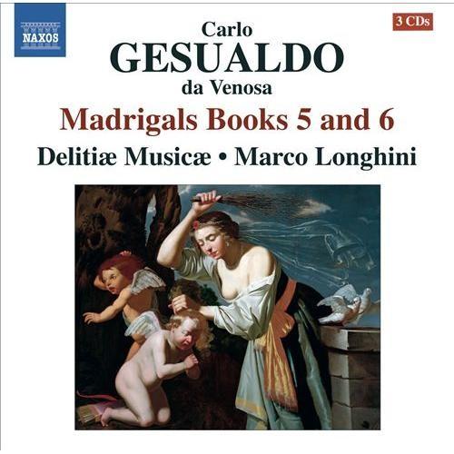 Madrigals Books 5 & 6-CD