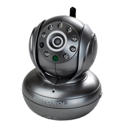 Motorola BLINK1 Wi-Fi Baby Monitor - Silver [Video - Digital Signal - One Receiver]